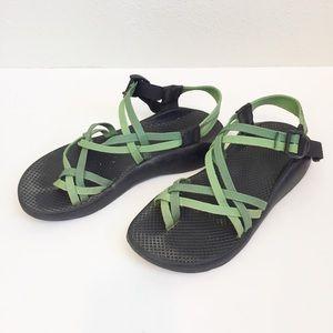 Chaco ZX/2 Yampa double strap sandal size 9W